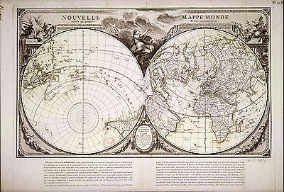 Old world map, vintage maps, atlas map globe, world map print, wall hanging, 18