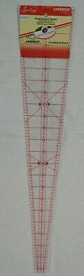 "Sew Easy Patchwork Ruler, 10 Degree Wedge, 22.5"" x 5"""