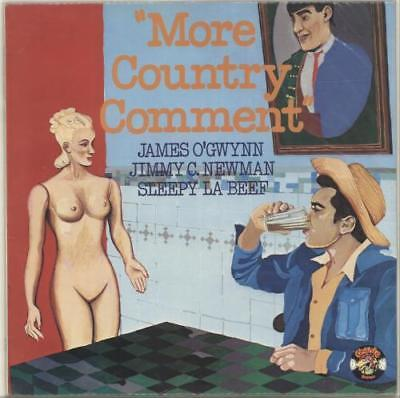 """""""More Country Comment"""" Various-Country UK vinyl LP album record CR30163"""