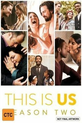 This is Us COMPLETE Season 2 series two second DVD new sealed+FREE TRACKING
