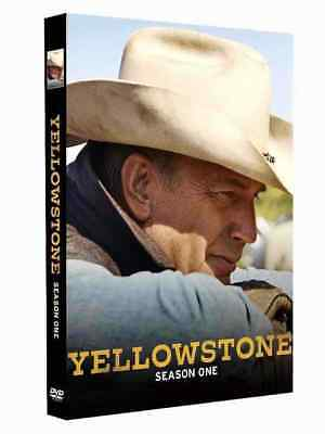 yellowstone COMPLETE Season 1 series ONE FIRST DVD new sealed +FREE TRACKING