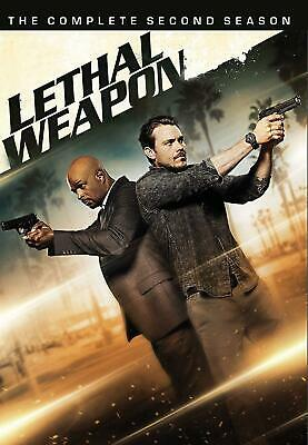 LETHAL WEAPON season 2 series TWO SECOND DVD new sealed + FREE TRACKING POST