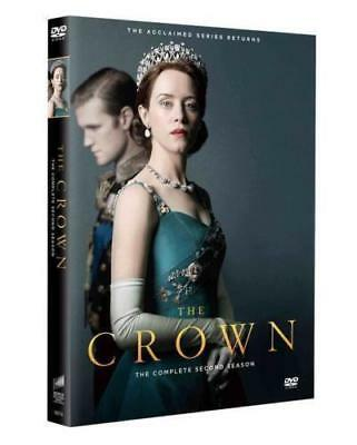 THE CROWN season 2 series TWO SECOND DVD brand new sealed + FREE TRACKING POST