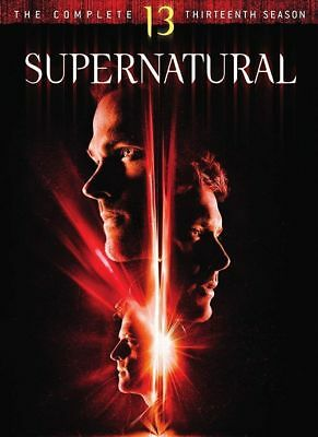 SUPERNATURAL season 13 series thirteen DVD brand new sealed + FREE TRACKING POST