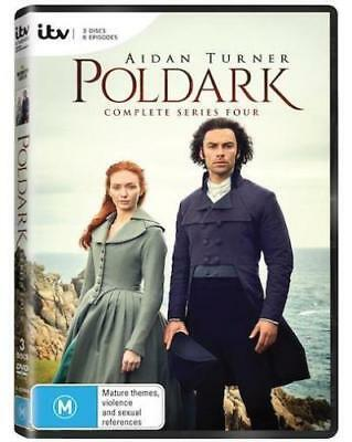 POLDARK season 4 series FOUR FOURTH DVD brand new sealed +FREE TRACKING POST