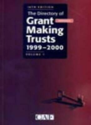 The Directory of Grant Making Trusts By Joanna Davis
