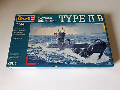Revell 05115 - German Submarine Type IIB - U-Boot - 1:144 OVP