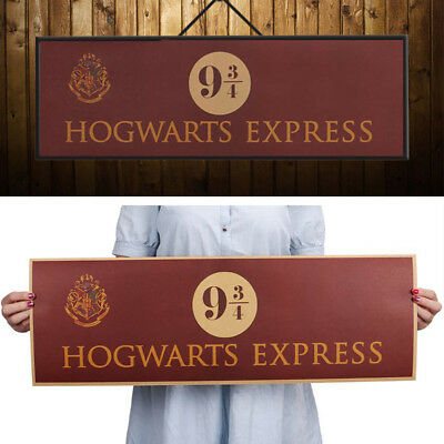 Harry Potter Movie Vintage Paper Poster Wall Stickers Decoration 72x24cm New