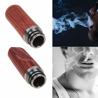 Long Wooden Mouthpiece 510 Drip Tip Stainless Steel Drip Tips for 510 Tank