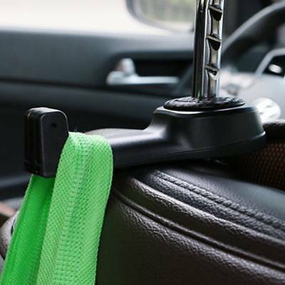 2 in 1 Multipurpose Car Headrest Seat Back Phone Holder Sundries Hanger Hook