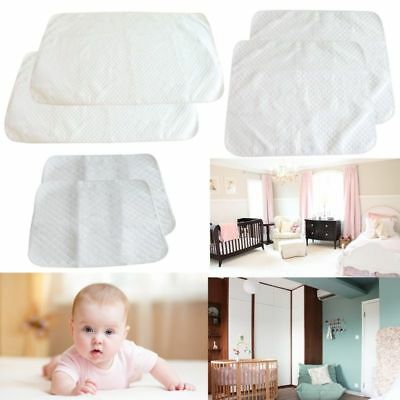 2Pcs Baby Changing Mat Cover Diaper Nappy Change Pad Waterproof Infant Urine Mat