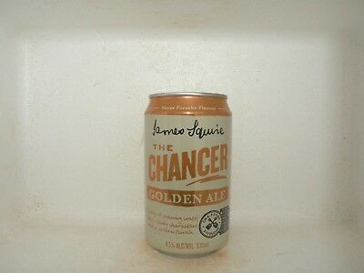 JAMES SQUIRE THE CHANCER GOLDEN ALE 330ml EMPTY BEER CAN