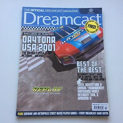 Dreamcast Magazine Issue 16 Feb 2001 : Daytona USA 2001, VGC, Combined postage!