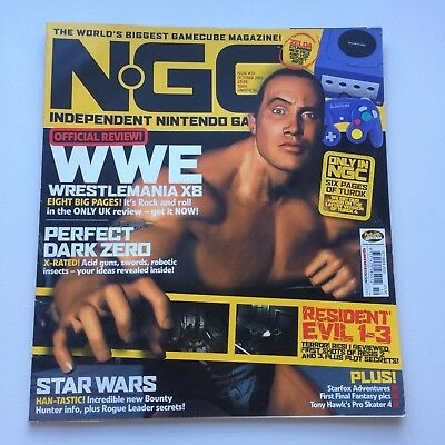 NGC Magazine October 2002 Issue #72 : WWE / The Rock, VGC, Combined postage!