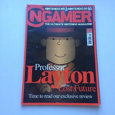 NGAMER October 2010 Issue #54 Professor Layton, VGC, Combined Postage avail!