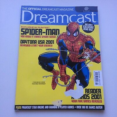 Dreamcast Magazine Issue 19 May 2001 : Spider-Man Issue, Combined postage avail!