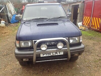 Isuzu trooper 3.1 turbo