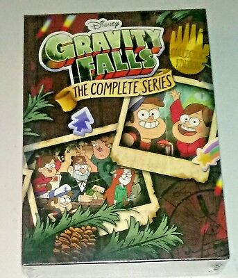 Brand New! Gravity Falls: The Complete Series.  7-Disc Dvd Box Set. Ships Free