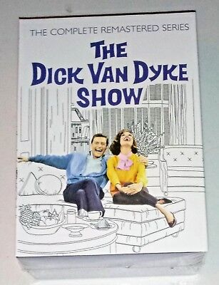 New! The Dick Van Dyke Show: The Complete Series. 25 Disc Dvd Box Set. Free Ship