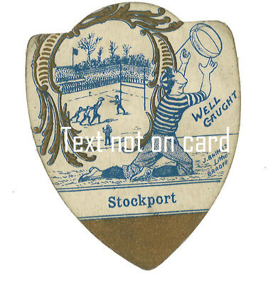 Stockport ( Manchester )  rugby baines card