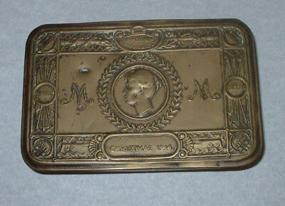 Wwi Princess Mary 1914 Armed Forces Christmas Gift Tin