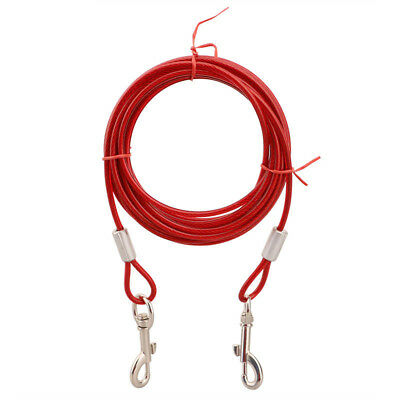 Metal Steel Dog Leash Lead Pet Training Puppy Braided Leather Parts Suitable Hot