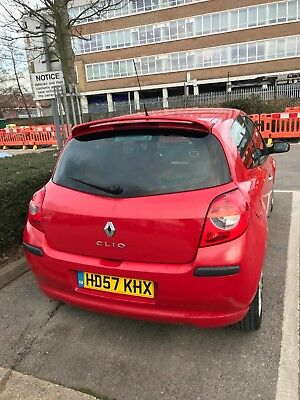 renault Clio 2007, petrol, manual, has done 99000 1.2L,  drives well no issues.