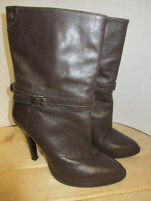 fa508157e44e Miss Sixty Bottines   low boots à talons compensés Cuir Marron 40