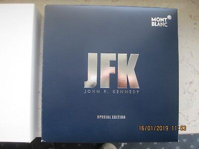 montblanc,J.F.Kennedy,Rollerball,Creat Characters Special Edition