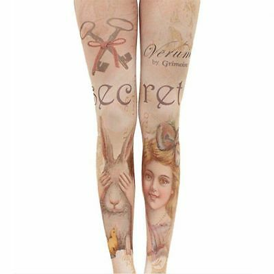Clothing Accessories Women's Hosiery Tattoo Tights Velvet Stockings Pantyhose
