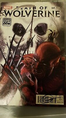 Death Of Wolverine signed by Greg horn