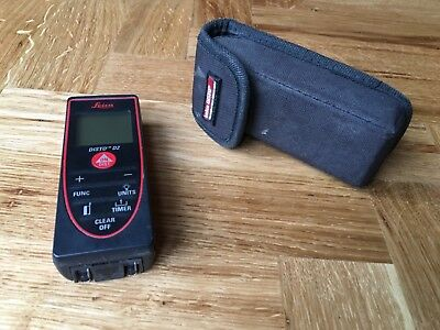 Leica Disto D2 Laser Measure and protective pouch