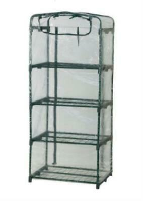 """Flowerhouse Planthouse Unused Vented 3 Cover Greenhouse 63"""" X 27"""" X 19"""" Fhpt400"""