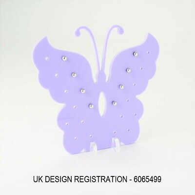 Butterfly Earring Stand, Jewellery Display, Stud Holder, Ear Piercing, 50 Colour
