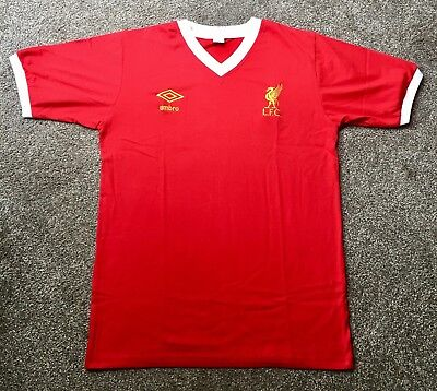 Retro Liverpool 1976-1979 Home Shirt ALL SIZES/SHORT/LONG SLEEVE