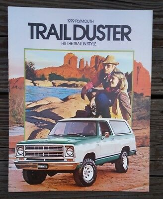 1979 Plymouth Trail Duster 4X4 Truck Sales Brochure Catalog