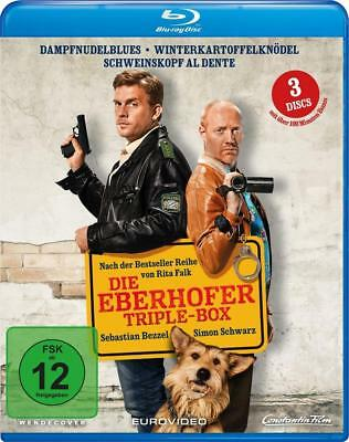 Die Eberhofer-Triple Box Ed Herzog Blu-ray Disc 3 Blu-ray Discs Deutsch 2012