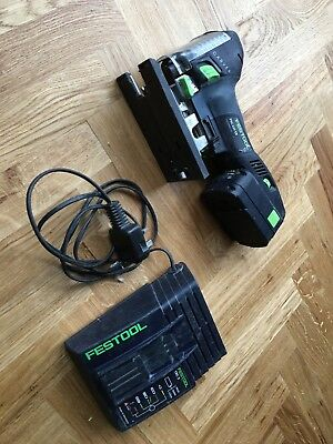 Festool  18v 3 Ah cordless jigsaw PSC 420 EB  With battery and charger
