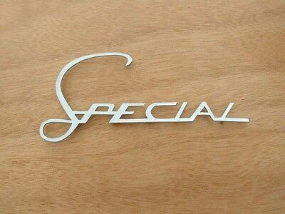 "Lambretta ""special""  Chrome Legshield Badge - Brand New"