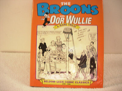 the broons and oor wullie a rare treat-hardback