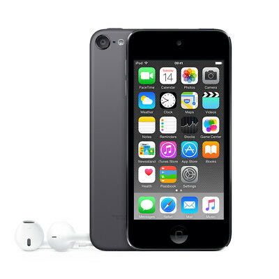"""Apple MKJ02FD/A iPod touch 32GB MP4 player Grey 4"""" IPS - 1136 x 640 - A8 + M8 -"""
