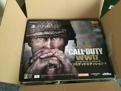 SONY PlayStation4 Console Call of Duty World War II 2 Limited Edition New