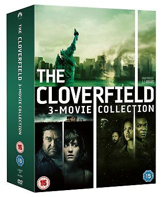 Cloverfield 1-3: The Collection (Box Set) [DVD]