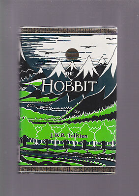 The Hobbit by JRR Tolkien, Harper Collins 1991 edition, illustrated
