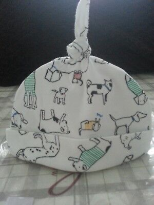 Baby Joules Designer Hat and Bib Size 6-9 moths NEW