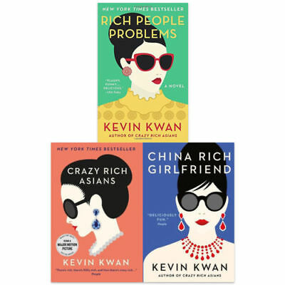 Kevin Kwan 'Crazy Rich Asians' Trilogy Epub Mobi Kindle / iPhone / E-reader