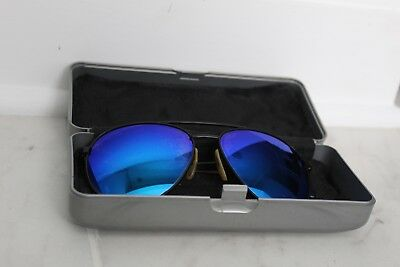 80s-90s Vintage Authentic REVO Aviator Sunglasses with Case and Soft Sleeve