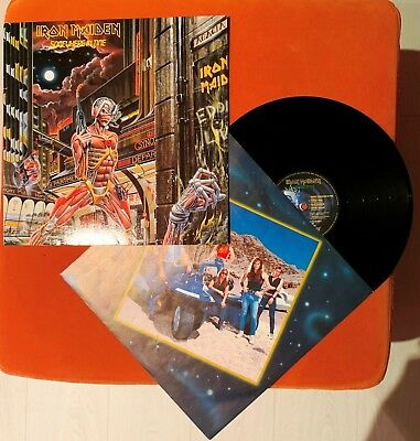 LP Iron Maiden - SOMEWHERE IN TIME - 1986
