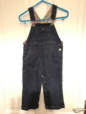 Paul Smith Junior Baby Boys 18 Months Dungarees Denim Pristine Condition
