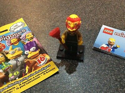 Lego The Simpsons Minifigure Series 2 Grounds Keeper Willie complete